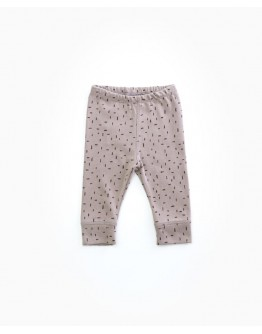 PLAY UP - Baby legging in organic cotton with a pattern | Woodwork