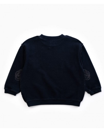 PLAY UP - Boy / Girl Sweater with inside out weaving | Woodwork *LAATSTE MAAT 10JR*