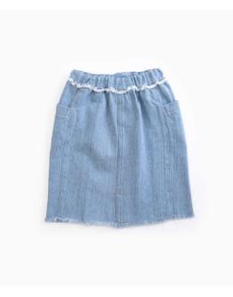 PLAY UP - Girl Skirt Denim | Woodwork