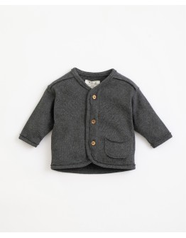 PLAY UP - Baby boy - Jacket with pocket and coconut buttons | Illustration | Frame melange
