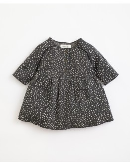 PLAY UP - Baby girl - Dress with pattern and front pockets   Illustration   Frame