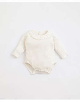 PLAY UP - Baby girl - Body in organic cotton with metal clip opening | Illustration | Home