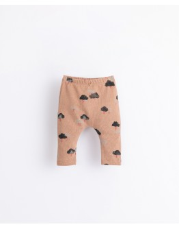 PLAY UP - Baby - Leggings in organic cotton with a print | Illustration | Paper