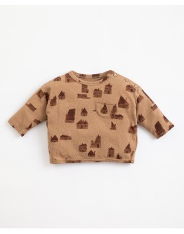 PLAY UP - Baby boy - T-shirt with houses print | Paper