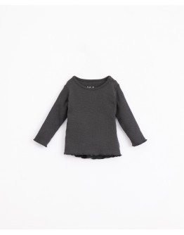 PLAY UP - Baby - T-shirt in organic cotton with shoulder opening | Illustration | Frame