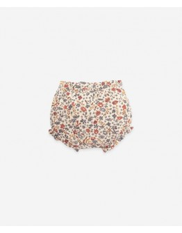 PLAY UP - Baby girl - Bloomer with flower print - Botany