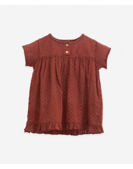PLAY UP - Baby girl - Mixed dress Stitch and Weave - Farm