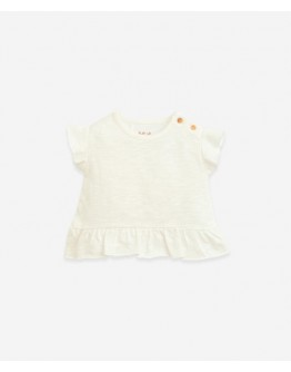 PLAY UP - Baby girl - T shirt with shoulder opening - Windlower