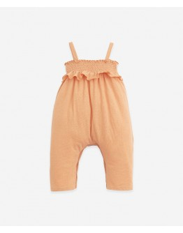 PLAY UP - Baby girl - Jumpsuit with elastic chest | Teresa