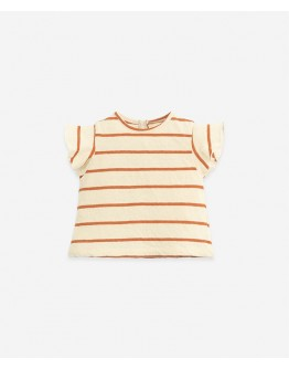 PLAY UP - Baby girl - T-shirt  Striped| Anise