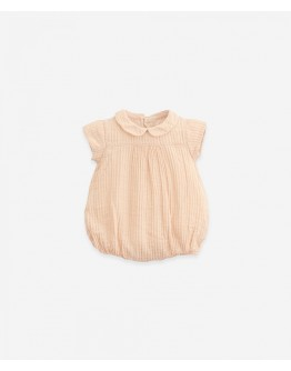 PLAY UP - Baby girl - Jumpsuit woven with opening at the back | Egg