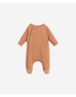 PLAY UP - Baby - Jumpsuit Ajour with front opening | Botany