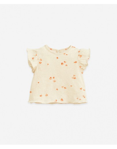 PLAY UP - Baby girl - T-shirt with heart print   Botany