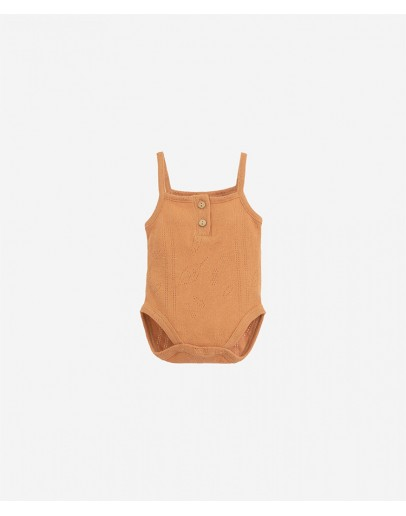 PLAY UP - Baby girl - Ajour body with straps - Botany