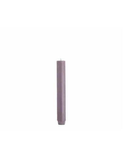 RUSTIK LYS - Dinerkaars 2,6 x 18 cm - antiek paars