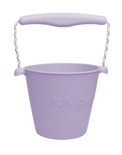 SCRUNCH - Flexibele Bucket - Light purple
