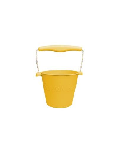 SCRUNCH - Flexibele Bucket - Mustard