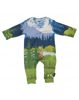 SNURK - Baby Jumpsuit Across the Alps