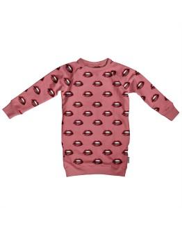 SNURK - Sweater dress Kiss Kiss