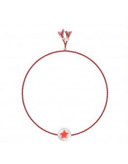 SORBET ISLAND - Armband Painted freshwater pearl - Star