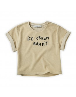 SPROET & SPROUT - Sweat T shirt Terry Ice cream bandit
