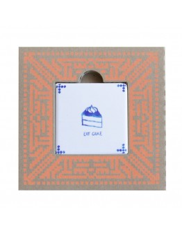 STORYTILES - Tegelkaart 'Eat cake'