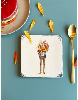 STORYTILES - 'All you need is flowers' Small