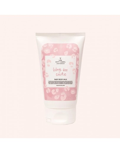 THE GIFT LABEL - Baby body milk - WAY TOO CUTE