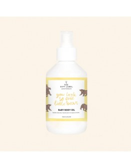 THE GIFT LABEL - Baby body oil - IT IS TIME FOR BUBBLES