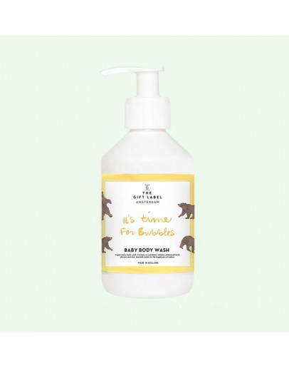 THE GIFT LABEL - Baby body wash - IT IS TIME FOR BUBBLES