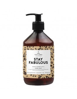 THE GIFT LABEL - Handzeep 500 ml - STAY FABULOUS