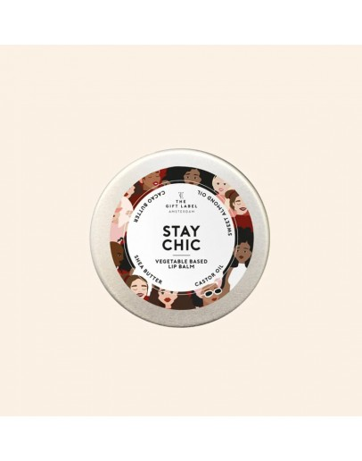 THE GIFT LABEL - Lip balm - STAY CHIC