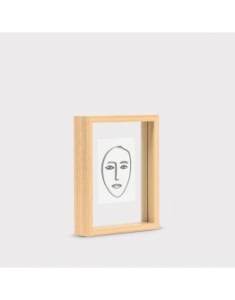 URBAN NATURE CULTURE - Photo Frame Floating Aesthetic S - Natural