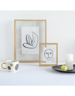 URBAN NATURE CULTURE - Photo Frame Floating Aesthetic L - Natural