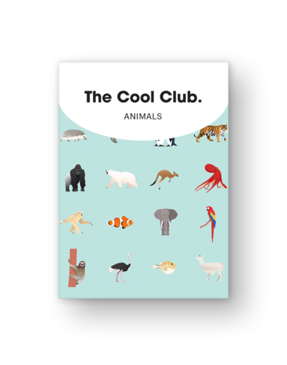 THE COOL CLUB - Card game Animals